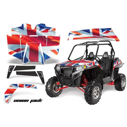 Комплект графики AMR Racing Union Jack (RZR900XP)