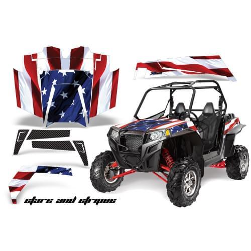 Комплект графики AMR Racing Stars and Stripes(RZR900XP)