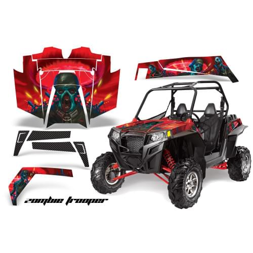 Комплект графики AMR Racing Zombie Trooper (RZR900XP)