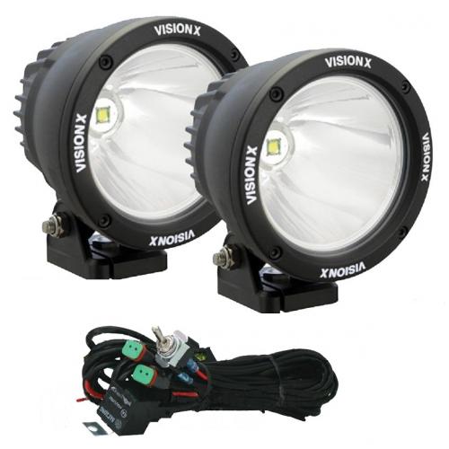 Светодиодная оптика 25W CTL-CPZ110 KIT (Дальний свет)