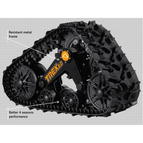 Комплект всесезонных гусениц Commander TREX 2.0 для ATV
