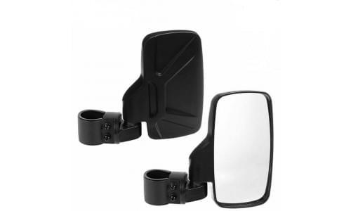 """Зеркала для UTV прямоугольные для трубы 1,75""""-2"""" CAN-AM /POLARIS /YAMAHA /CFMOTO /HONDA"""