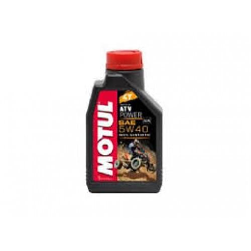 Моторное масло синтетическое Motul ATV Power 5W40 4T (1литр)