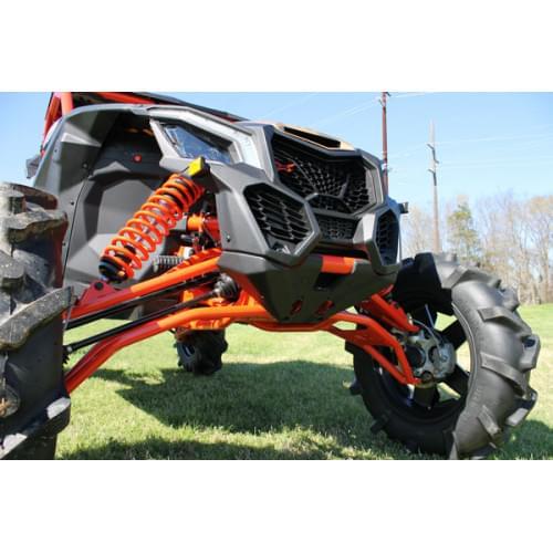 Рычаги передние нижние изогнутые HighLifter для Maverick X3 XRS